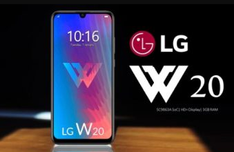 LG W20 Release Date, Price and Specifications!